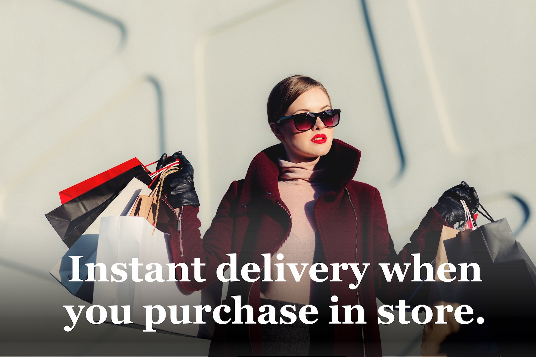 Instant Delivery When You Purchase Online
